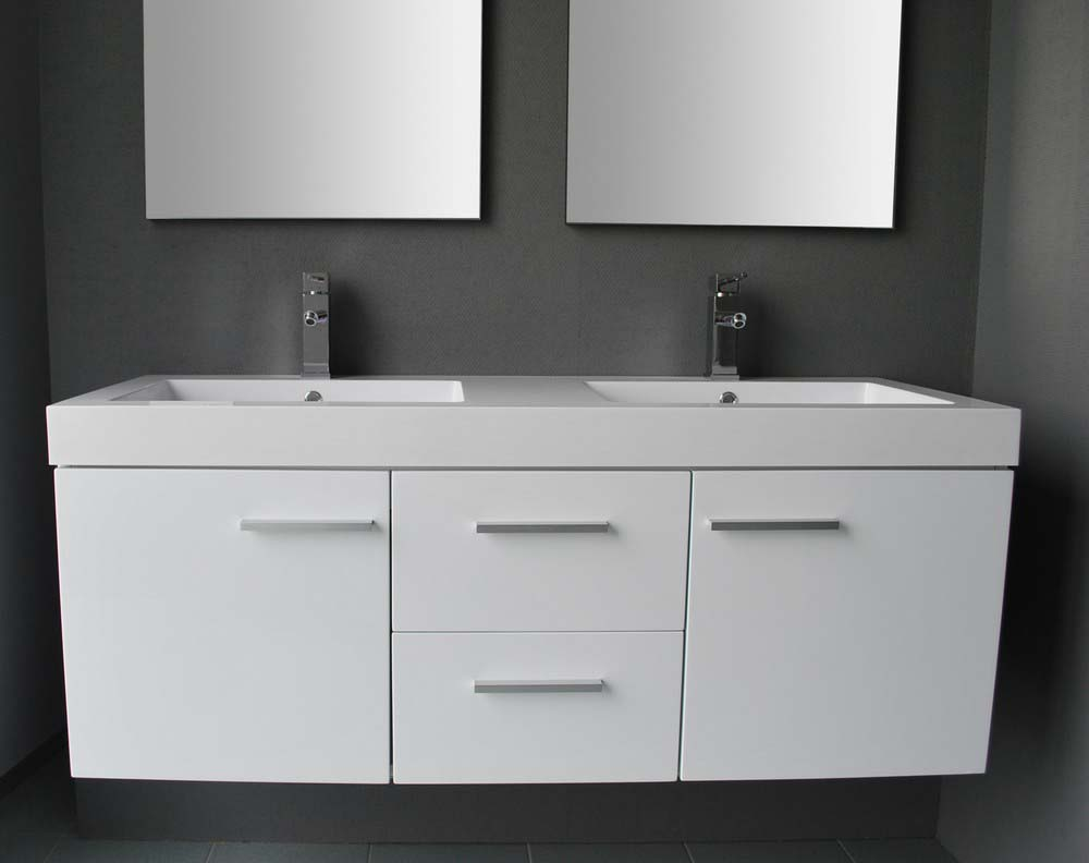 Badkamermeubel california inclusief spiegels badkamerhuis