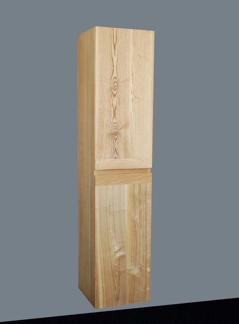 Hoge Kast Massief Teakhout 160cm