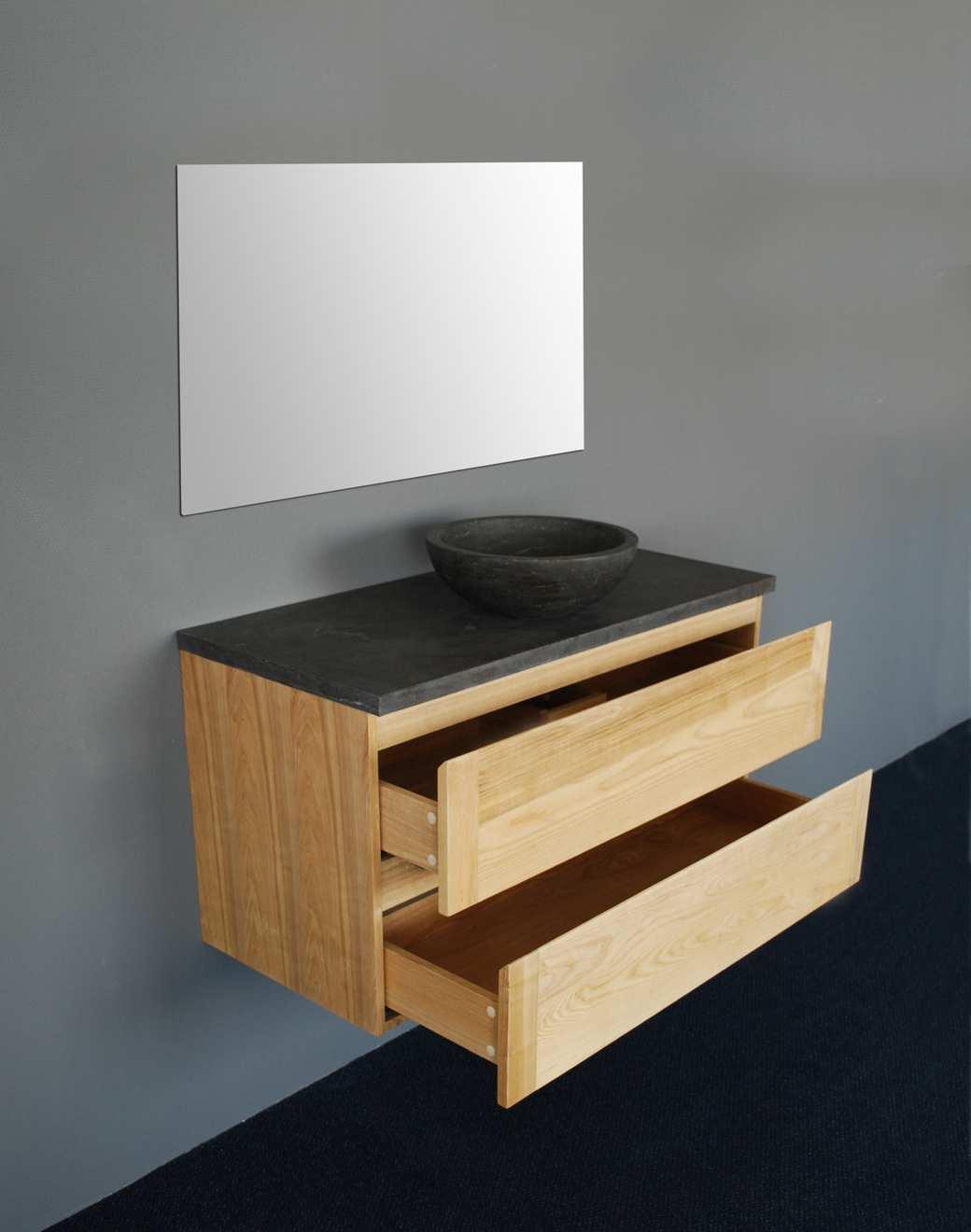 badmeubel wood dynasty 120cm massief teakhout. Black Bedroom Furniture Sets. Home Design Ideas