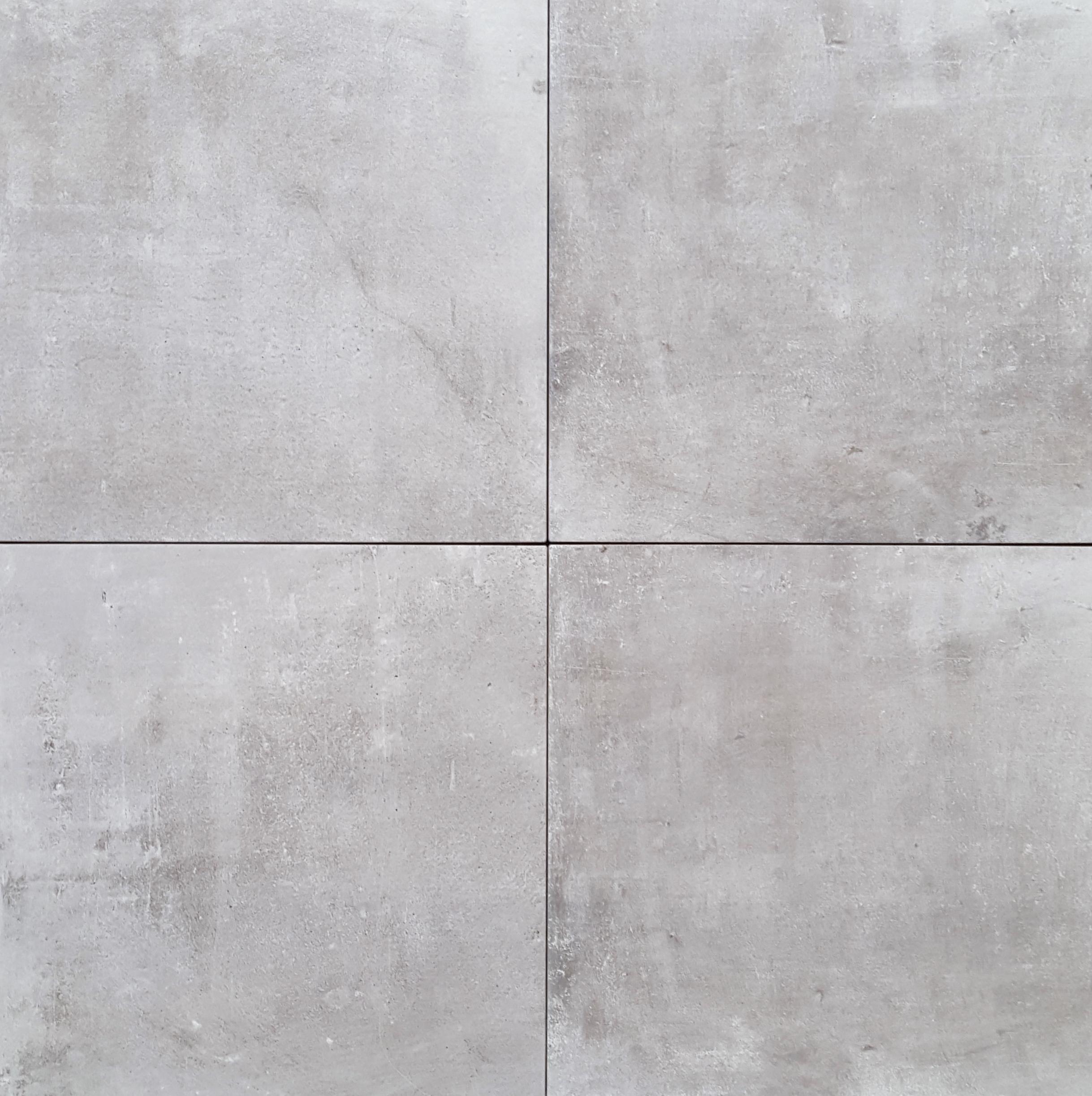 Vloertegel urban light grey 45x45cm p m2 - Vloertegel cement ...