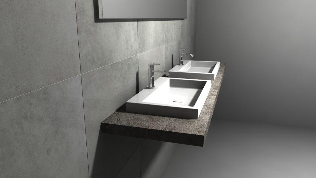 3d ontwerp van uw badkamer badkamerhuis te rotterdam for Ontwerp 3d badkamer
