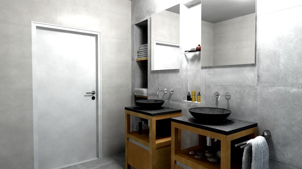 3D ontwerp van uw badkamer Badkamerhuis te Rotterdam