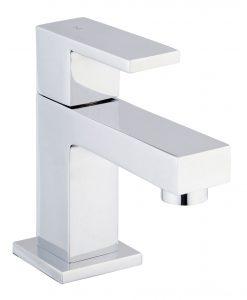 Toiletkraan Rombo vierkant Chroom keramisch binnenwerk