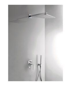 Wonderbaarlijk Inbouw regendouche set Rombo uit plafond 30cm douchekop - Badkamerhuis JQ-75