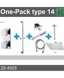 One-Pack inbouwthermostaatset nr 14 (30cm)