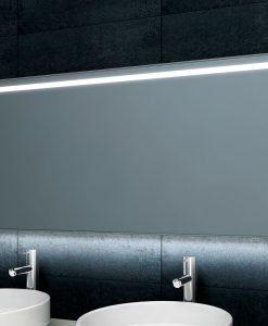 WB Ambi One dimbare Led condensvrije spiegel 1200x600