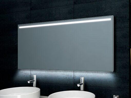 WB Ambi One Led dimbare condensvrije spiegel 1400×600 1