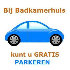 Gratis parkeren bij Badkamerhuis