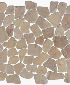 Flat marble tan